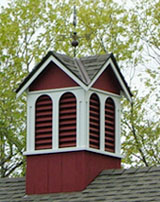 Small Cupola with Cedar Roof