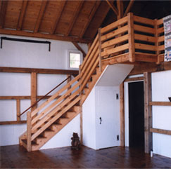 Custom Loft Staircase