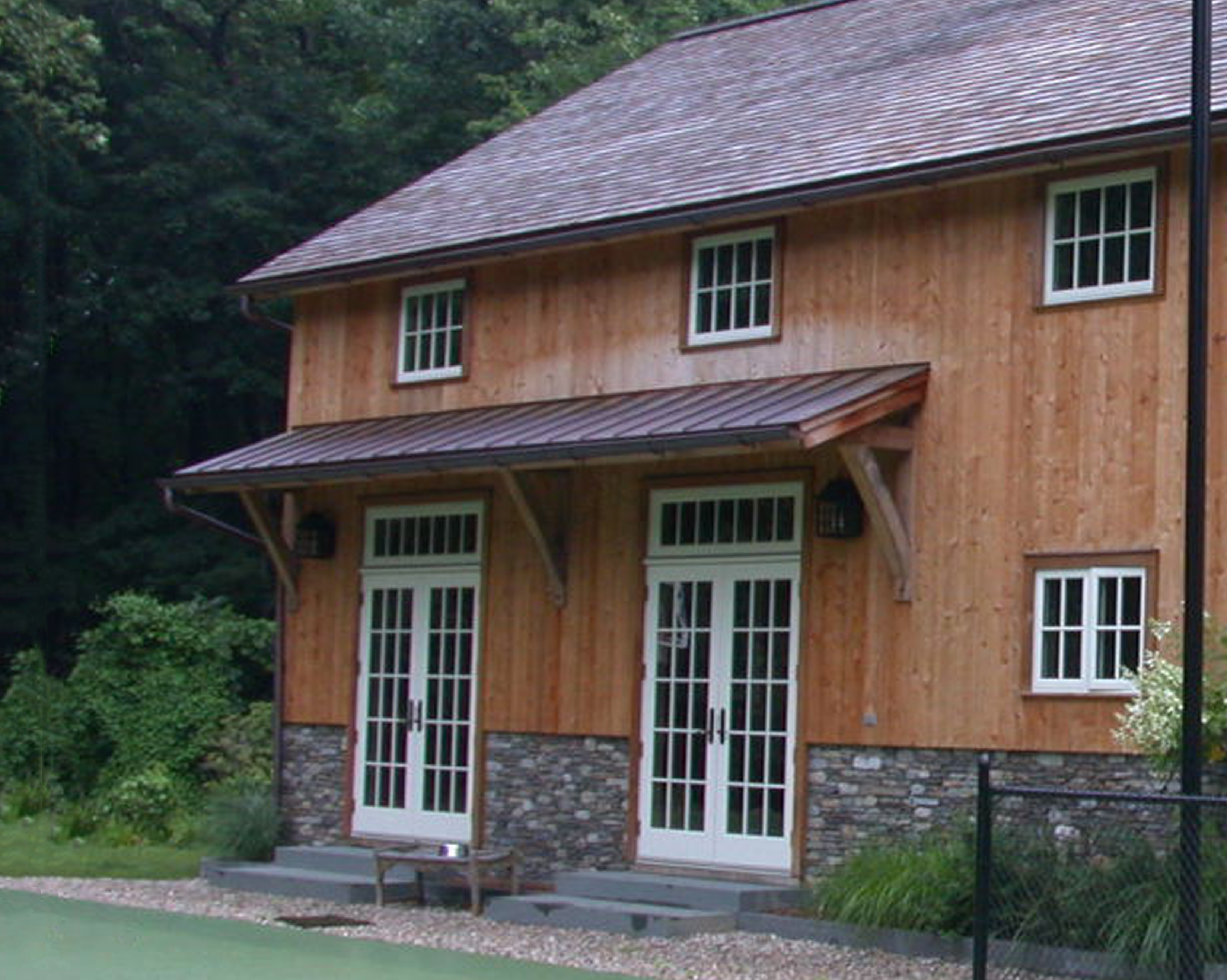 New england barn barn accessories for Shed roofs