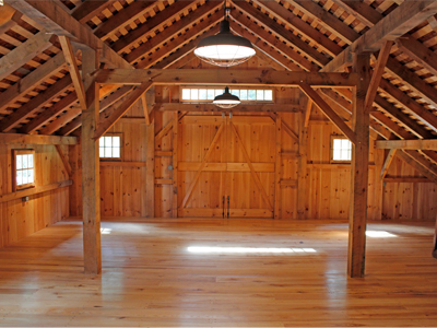 Bank Barn Loft Swing Out Doors