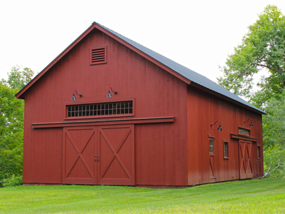 Custom 28x48 Queenpost Barn 1