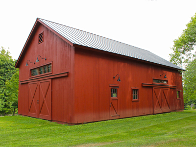 Custom 28x48 Queenpost Barn 2