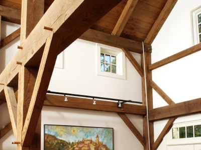Custom Barn Home Interior 1