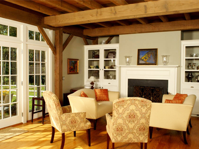 Custom Barn Home Interior 3