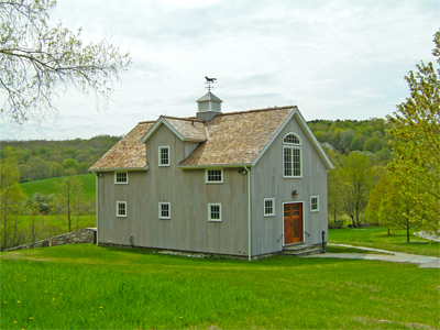 Custom Insulated Litchfield Queenpost Barn With Dormer