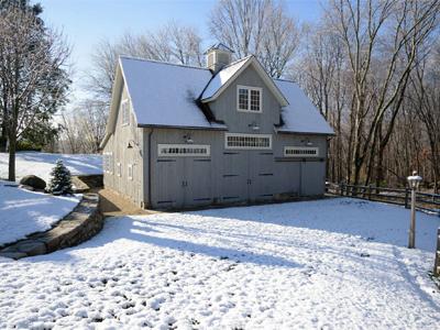 Insulated Kent Carriage Barn 1