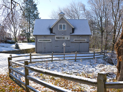 Insulated Kent Carriage Barn 2