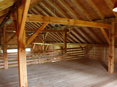 Queenpost Barn Loft