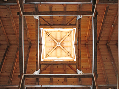 Salisbury Barn Cupola Superstructure