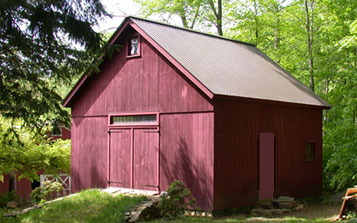 New England Kingpost Barn