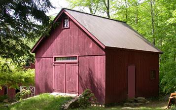 New england barn new england kingpost barn for New england shed plans