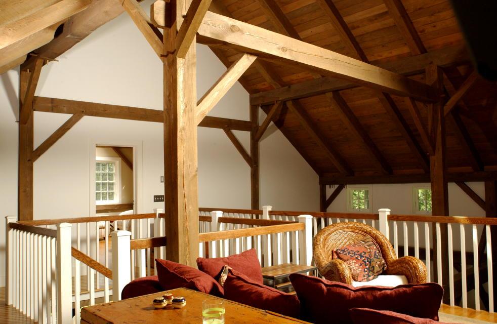 New England Barn Purlin Post Barn