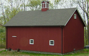 Ridgefield Queen Post Barn