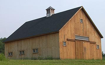 New England Barn Sharon Horse Barn