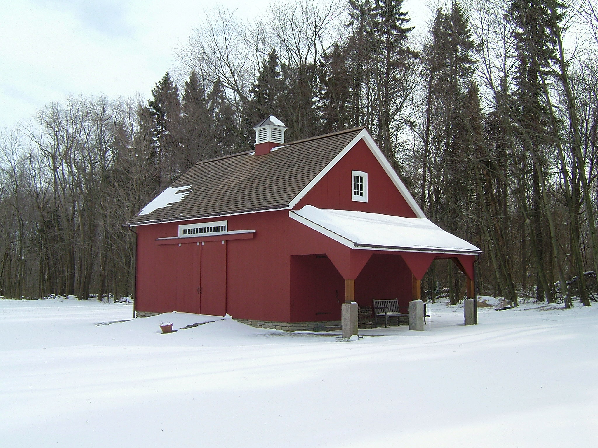 New England Barn Weather Hill Barn