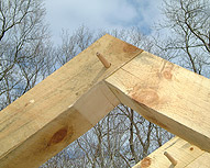 Mortise & Tenon Rafter Peak photo